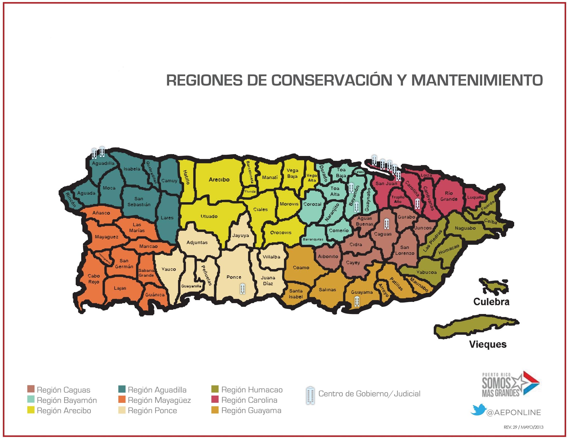 Regiones de Conservación AEP